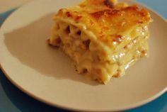 Cubano Mac and Cheese Lasagna, a very unusual combination, but it sounds FABULOUS!