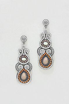Athena Earrings in Neutrals
