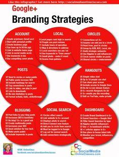 64 Google Plus Branding Strategies #infographic