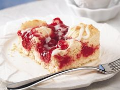 Cherry Swirl Coffee Cake