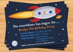 space ship invitation