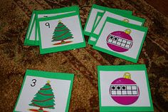10 frames kindergarten, ten frames, memory games, kinderkid fun, christmas ornaments, frame match, decemb, christmas trees, christma math