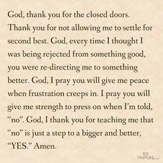 YES. Amen