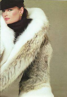 Coyote & Fox Fur Coat