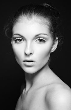 Black and  White Beauty Editorial
