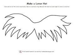 FREE Pattern to make a Lorax moustache hat. www.subhubonline....
