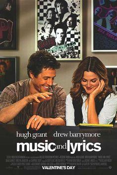 music, film, chick flick, watch, book, lyric 2007, hugh grant, favorit movi, lyrics