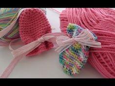 Thumbless Crochet Baby Mittens - Crochet Baby Mittens •✿•  Teresa Restegui http://www.pinterest.com/teretegui/ •✿•