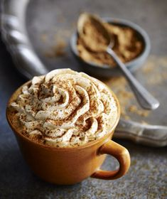 Cinnamon, nutmeg, clove? Check. Creamy milk for a delicious taste and texture? Check. Real pumpkin pie spices atop whipped cream? Check. Starbucks Pumpkin Spice Latte is back.