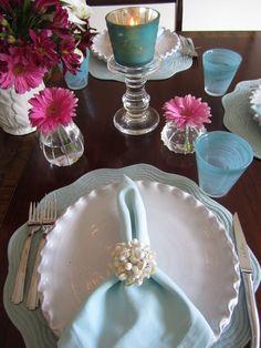 Seashell napkin holders