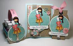 parti craft, copic card, jodi collin, paper purs, charact card