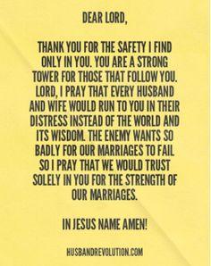 Prayer: Running To The Lord http://husbandrevolution.com/prayer-running-lord/