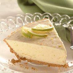 Creamy Frozen Lime Pie (Easy; 8 servings) #lime #pie