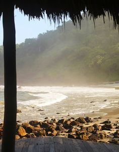 Relaxation on the beach: Nicaragua