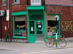 wilensky restaurant - mile end, montreal