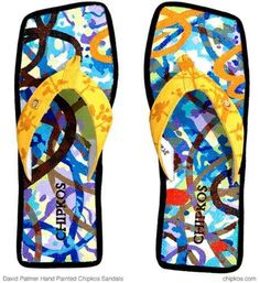 David Palmer Creates $18,000 Flip Flops to Save the Rainforest trendhunter.com