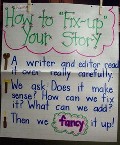 How to Fix Up Your Story