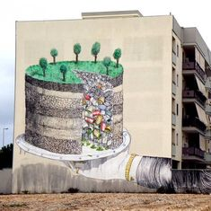 Awesome Murals by Blu
