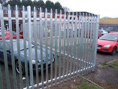 Steel Fencing parking