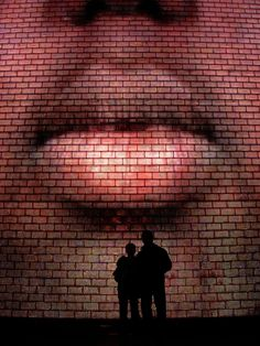 Taken at Crown Fountain in Chicago. Crown Fountain is an interactive work of public art and video sculpture featured in Chicago's Millennium Park.