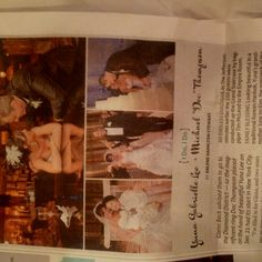 Our jefferson hotel wedding in the Richmond Times Dispatch!