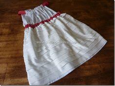 Pillowcase Style Ruffle Dress.