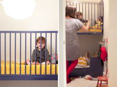 Modern baby bunk beds @jordanferney #modernnursery #summerinthecity kid bedrooms, shared nursery, kid fun, bunk beds, disney babies, kid rooms, small spaces, shared bedrooms, toddler bed