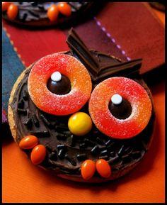 Cute Owl cookies.