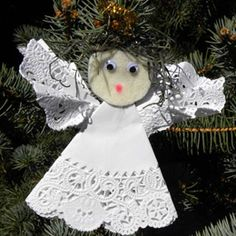angel ornament craft for kids