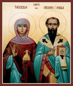 MYSTAGOGY: Saint Theosevia the Deaconess of Nyssa