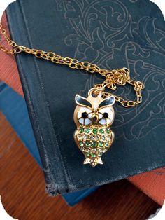 mr. owl necklace.