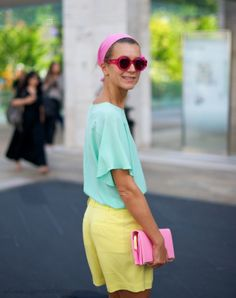Pastel colour popping