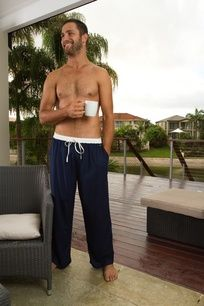 Some great Men's 'Sunday' Pj pants from Frankie & Nicole Sleepwear