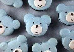 Bear Macarons by Bakerella, via Flickr