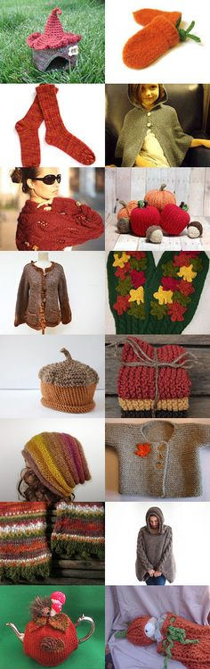 hand knits by Kari White on Etsy #etsy #gifts #knit #knitting #autumn #winter #thanksgiving #christmas