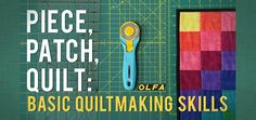 Free Piece Patch Quilting Online Class at Craftsy - this class is great for beginners up to experienced quilters. Gives great ideas... plus it's free!