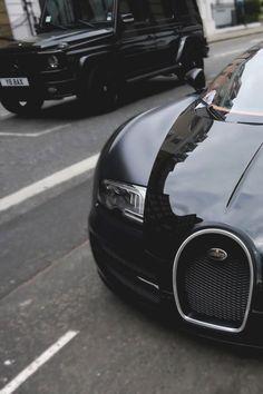 Bugatti Veyron & Mercedes-Benz G63 AMG