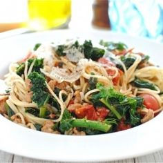 Think you can't have pasta without the guilt? Think again! Delicious Heavenly Chicken W/ Angel Hair Pasta #FuelUpFriday