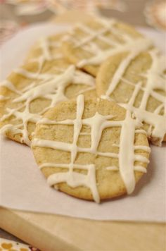 Maple Sugar Cookies with Maple Icing