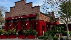An image of Bouchon restaurant, Yountville, California