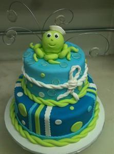 Octopus Kids Cake