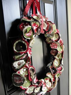 Christmas tree wreath.