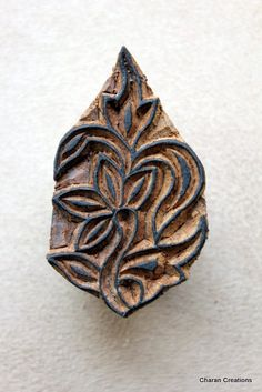 Hand-carved stamp