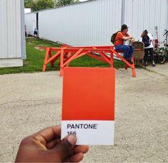 Paul Octavious' Pantone Swatch Photos: Artist Matches Colors To Everyday Life Scenes (PHOTOS)