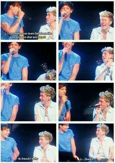 Niall has the cutest reaction
