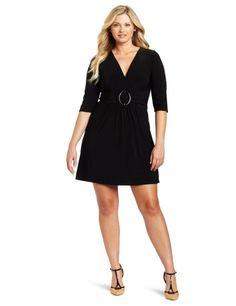 star vixen, plussiz 34, ore dress, plus size fashions, little black dresses, women plussiz, sleeves, 34 sleev, vixen women