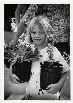 Retro! 1991 - Annual Fall Plant Sale at the Santa Barbara Botanic Garden www.sbbg.org  Santa Barbara Botanic Garden Image Library
