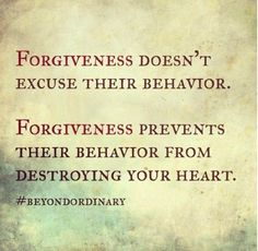 This is everything. #forgiveness is not something I do, but I really wish I could forget.