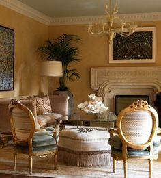 Laura Lee Clark Interior Design - I've always adored these chairs.