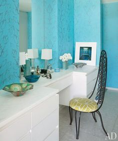 55 Cool Turquoise Decorating Ideas | Shelterness